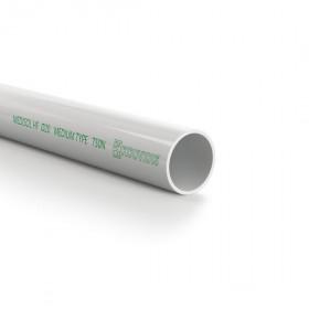Σωλήνα Ευθεία Μ.Τ. MediSol HF IAS Φ20 Γκρί Ελέυθερο Αλογόνου ΚΟΥΒΙΔΗΣ