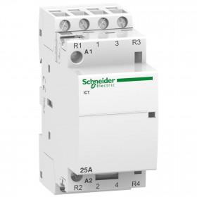 Ρελέ Ισχύος Ράγας 4P 25A 2NO+2NC 240VAC Acti 9 iCT SCHNEIDER ELECTRIC