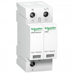 Αντικεραυνικό T2 5kA 1P+N Με Αποσπώμενα Φυσίγγια Acti 9 iPRD20 SCHNEIDER ELECTRIC