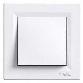 Διακόπτης Απλός Λευκό Asfora