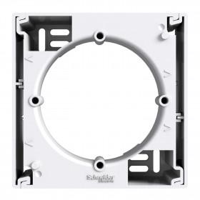 Κουτί Επίτοιχης Τοποθέτησης 1 Θέσης Λευκό Asfora