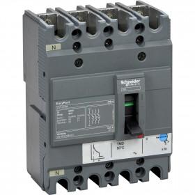 Αυτόματος Διακόπτης Ισχύος 4P 63A 25kA EasyPact CVS100BS