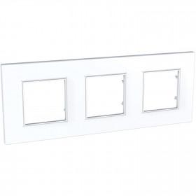 Πλαίσιο 6 Στοιχείων Λευκό Quadro Unica