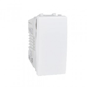 Διακόπτης Απλός 10Α 1 Στοιχείου Λευκό Unica