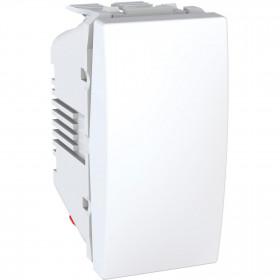 Διακόπτης A/R 10Α 1 Στοιχείου Λευκό Unica
