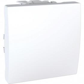 Διακόπτης A/R 10Α 2 Στοιχείων Λευκό Unica