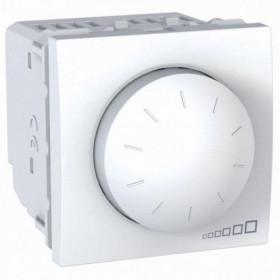 Dimmer LED 4-400W 2 Στοιχείων Λευκό Unica