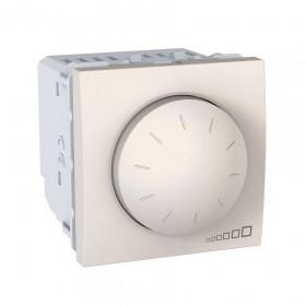 Dimmer LED 4-400W 2 Στοιχείων Ιβουάρ Unica