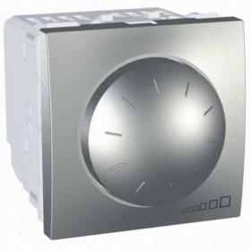Dimmer LED 4-400W 2 Στοιχείων Αλουμίνιο Unica