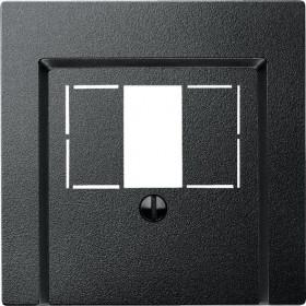Μετώπη Πρίζας Ηχείων Ή HDMI Ανθρακί System-M