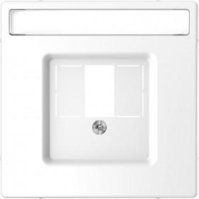 Μετώπη Πρίζας Ηχείων Ή HDMI Λευκό D-Life