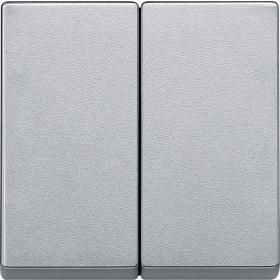Μετώπη 2 Πλήκτρων Αλουμίνιο System-M