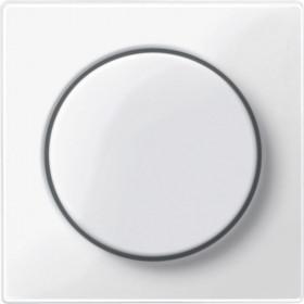Μετώπη Περιστροφικού Dimmer Λευκό System-M