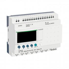 Επεκτάσιμος Ελεγκτής 26 I/O ZELIO 24VDC SCHNEIDER