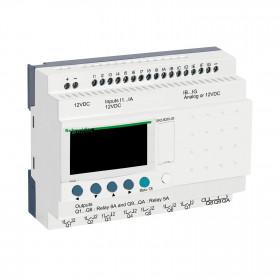 Επεκτάσιμος Ελεγκτής 26 I/O ZELIO 12VDC SCHNEIDER