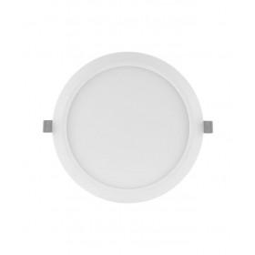 Πάνελ LED Χωνευτό 18W 3000K Στρογγυλό D225mm Λευκό SLIM LEDVANCE