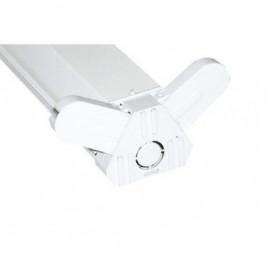Φωτιστικό Οροφής Για 2 Λάμπες LED 1,20m Δύο Άκρων