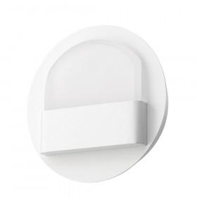 Απλίκα Αλουμίνιο LED 6W 3000k Λευκό Polso 6161202 NOVA LUCE