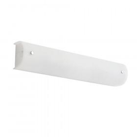 Απλίκα Μπάνιου Δίφωτη Γυαλί Σατινάτο Λευκό E27 Taylor 4105300 VIOKEF