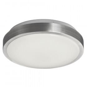 Πλαφονιέρα Αλουμινίου LED 18W 3000k Λευκό/Νίκελ Bright 4158900 VIOKEF