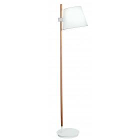 Φωτιστικό Δαπέδου Ξύλο Λευκό E27 Viana 4196000 VIOKEF