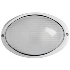 Φωτιστικό Χελώνα Αλουμινίου 2032S E27 Λευκή