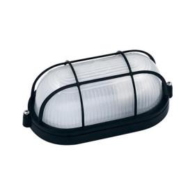 Φωτιστικό Χελώνα Αλουμινίου 2011S Με Πλέγμα E27 Μαύρη