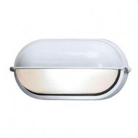 Φωτιστικό Χελώνα Αλουμινίου 2013S Με Σκιάδα E27 Λευκή