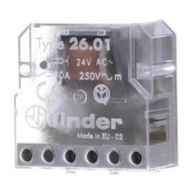 Ρελέ Με 2 Βήματα 1P 1NO 230V 10A 2601 FINDER