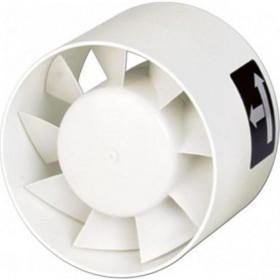 Εξαεριστήρας Αεραγωγού Φ120 Λευκός TDM-200 S&P