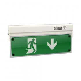 MLD-28D/W Φωτιστικό Ασφαλείας Σήμανσης LED Συνεχούς Και Μή Συνεχούς Λειτουργίας