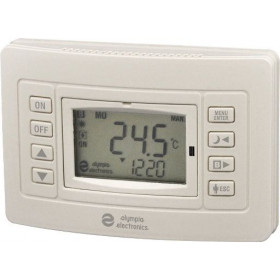 Θερμοστάτης Ψηφιακός Προγραμματιζόμενος Μπαταρίας Με Έξοδο Για Boiler BS-813