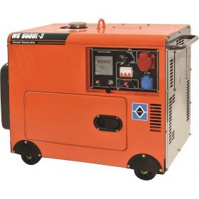 Ηλεκτρογεννήτρια Πετρελαίου Με Μίζα 6kW WS8500L-3 KRAFT