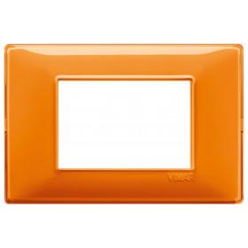 Πλαίσιο Reflex 3 Στοιχείων Πορτοκαλί Plana VIMAR
