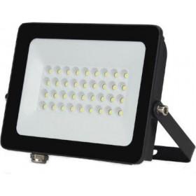Πpoβoλέας LED 30W 6400k IP66 Μαύρος 90° 230V LUCAS