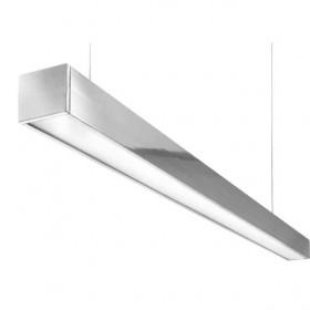 Φωτιστικό FOS 17000 LED 47W 4000K 2520mm Μαύρο KALFEX