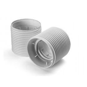 Ντουί E27 Πλαστικό Με Βόλτες Λευκό ARDITI