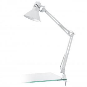 Φωτιστικό Γραφείου Με Κλιπ Λευκό E27 Firmo EGLO