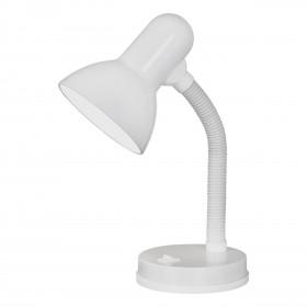 Φωτιστικό Γραφείου Λευκό E27 Basic EGLO
