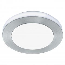 Πλαφονιέρα LED 11w 3000k Αλουμίνιο και Λευκό Carpi 94967 EGLO