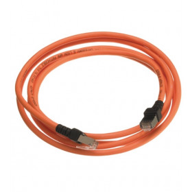 Patch Cord Χαλκού 0.5m Cat.6A FTP Πορτοκαλί LANmarkNEXANS
