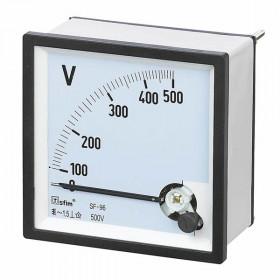 Βολτόμετρο Πόρτας Πίνακος 72X72mm AC 0-600V SF-72-6 SFIM