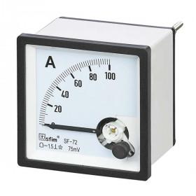Αμπερόμετρο Πόρτας Πίνακος 72X72mm AC 0-40A SF-72 SFIM