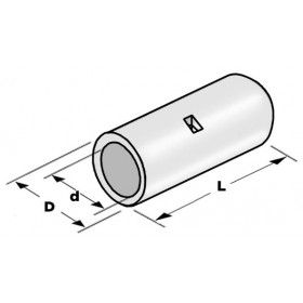 Μούφα Αγωγού (Σωλινάκι) Βαρέως Τύπου2.50mm²