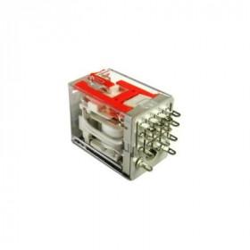 Ρελέ Μεσαίο 4P 230V AC 5A Solder Με Led RMIA45230AC CARLO GAVAZZI