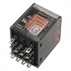 Ρελέ Μεσαίο 4P 230V AC 6A Solder Με LED PT570T30 SCHRACK