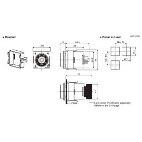 Χρονικό Λεριτουργίας Αστέρα 0.05s-500 5P 100-240VAC AT8SDN AUTONICS