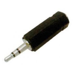 Adaptor 3.5mm² Stereo Σε 2.5mm² Stereo Θηλυκό AU1321 UNI