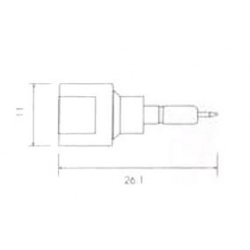 FME Αρσενικό ERICSSON 337 V8135 UNI