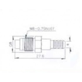 FME Θηλυκό Crimp RG174 V8140D UNI